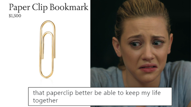 Tiffany Co Has A 1500 Paper Clip On Their Website And The