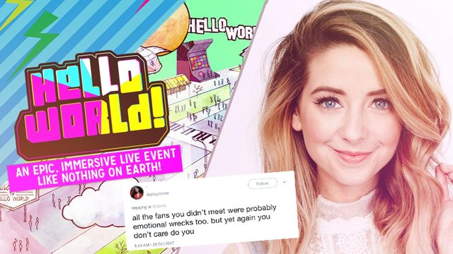 Zoella just responded to people who criticised her for not meeting zoella responds to hello world criticism m4hsunfo
