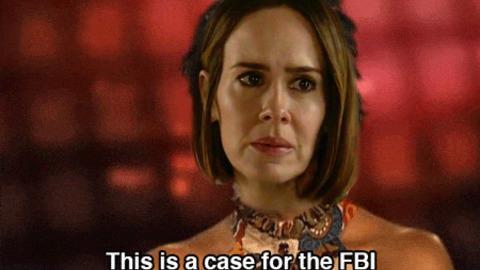 Sarah Paulson FBI