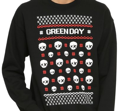 green day holiday sweater - Green Day Christmas