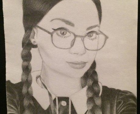 Carrie Hope Fletcher YouTuber fan art