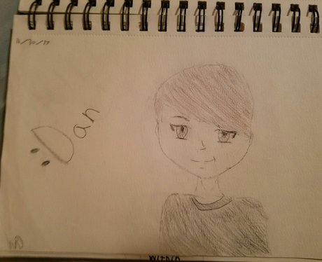YouTuber fan art Dan Daniel Howell 9