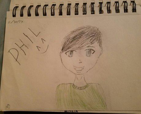YouTuber Phil Lester fan art by Ssfaith