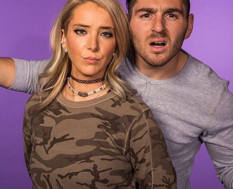 Jenna Marbles and boyfriend Julien Solomita