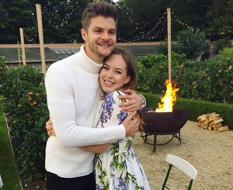 Jim Chapman and wife Tanya Burr