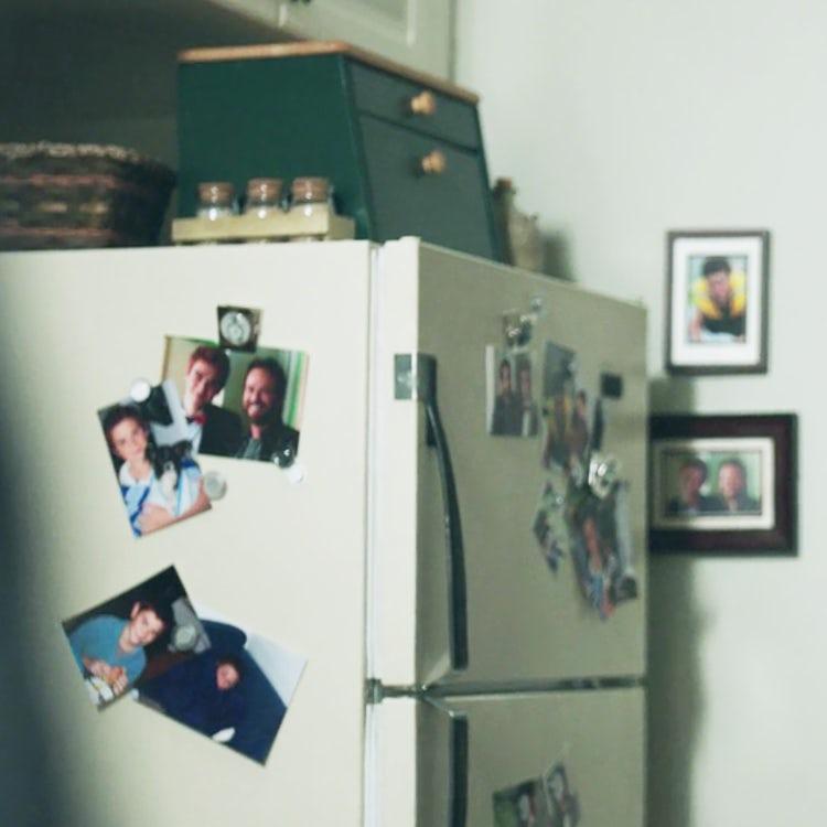 KJ Apa on the fridge