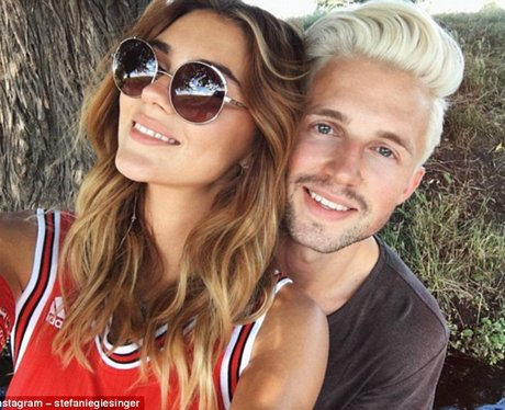 Marcus Butler and girlfriend Stefanie Giesinger