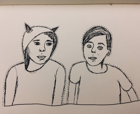 YouTuber Fan Art Dan and Phil 1