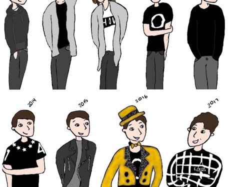 YouTuber Fan Art Dan Howell Daniel