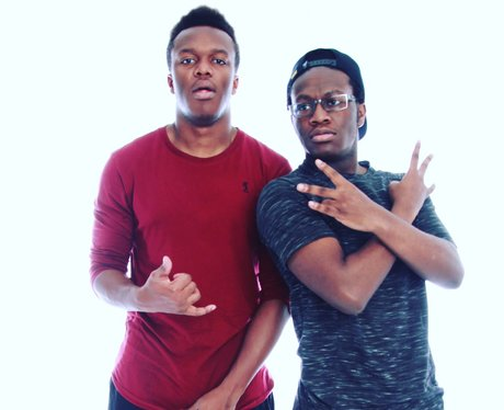 KSI and his brother Deji