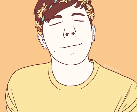 YouTuber Fan Art Phil Lester