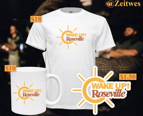 wake up roseville merch