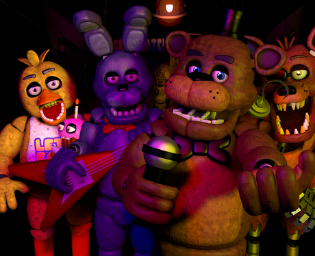 five nights at freddy's movie cast