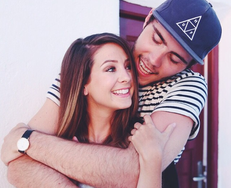 Alfie Deyes and Zoe Sugg