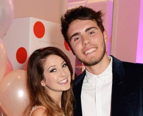 Alfie Deyes and Zoella
