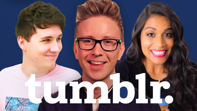 A Complete List Of YouTubers' Tumblr Pages That You Need To