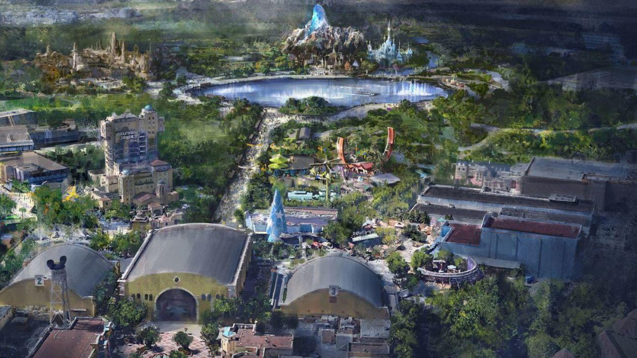 Disneyland Paris Expansion Concept Art