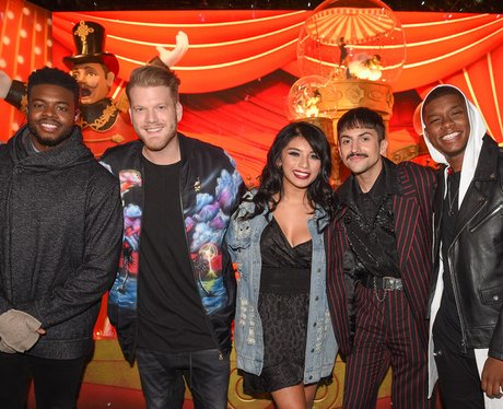 Current Pentatonix lineup with Matt Sallee