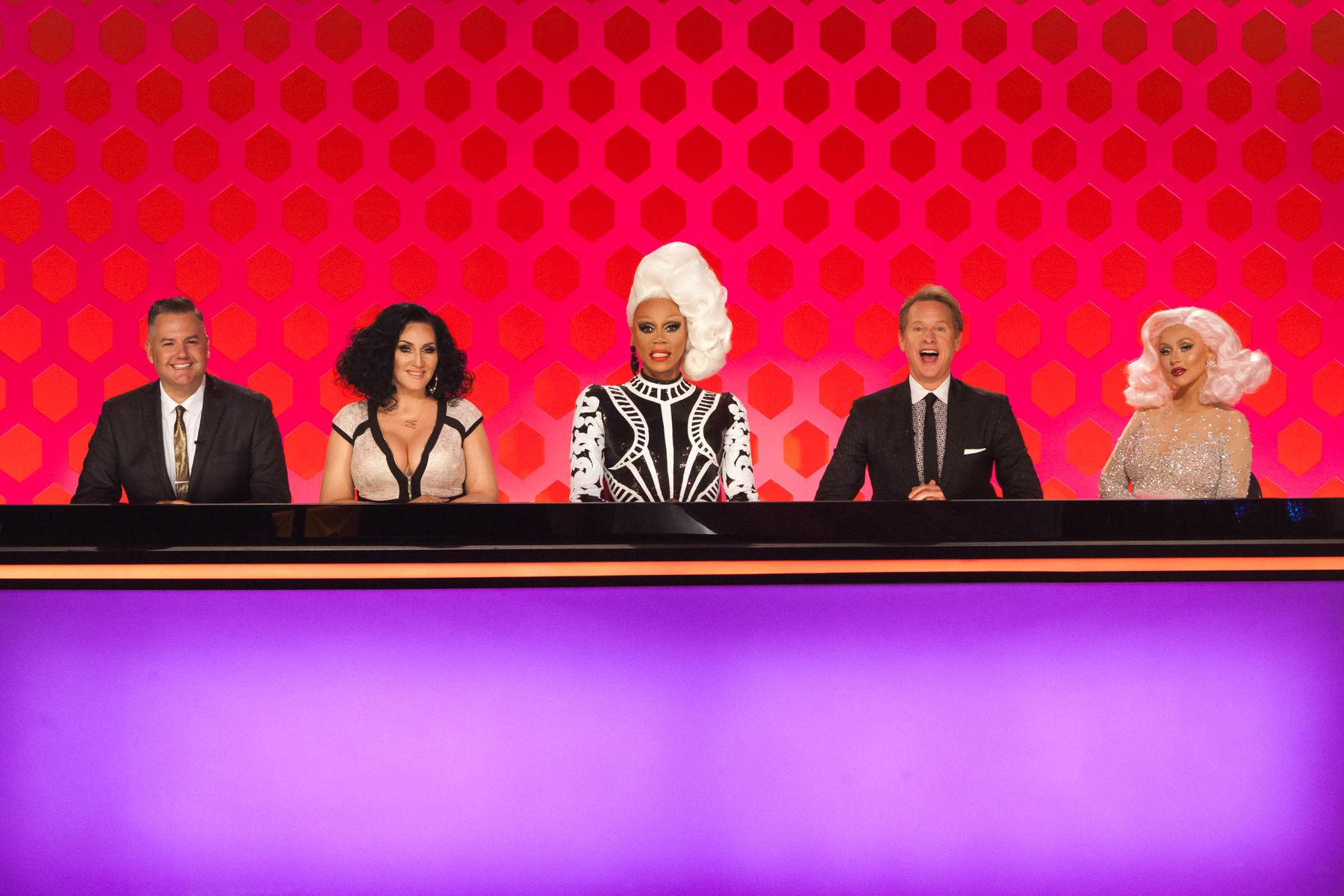 RuPaul's Drag Race Season 10 Judges