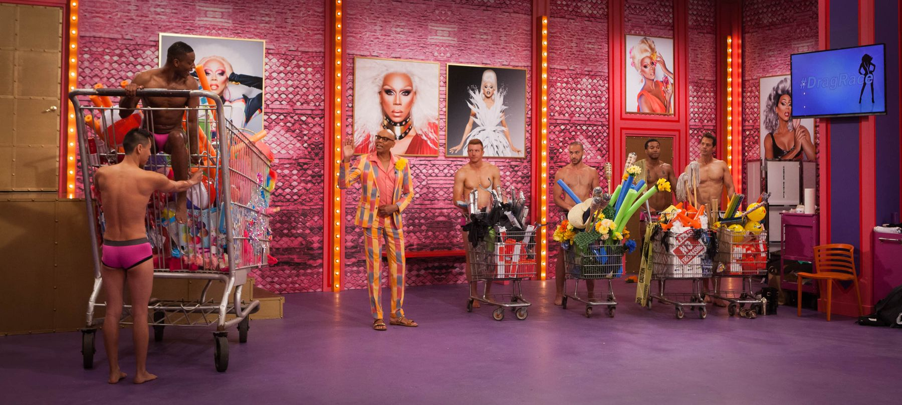 RuPaul's Drag Race Season 10 Work Room