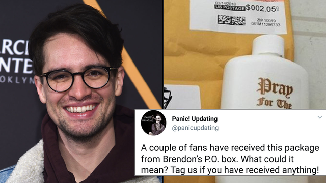 aa65846a Panic! At The Disco Fans Have Been Receiving Mysterious Packages ...