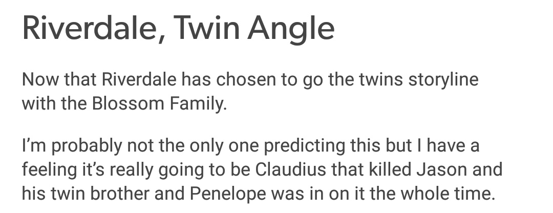 Tumblr Claudius theory