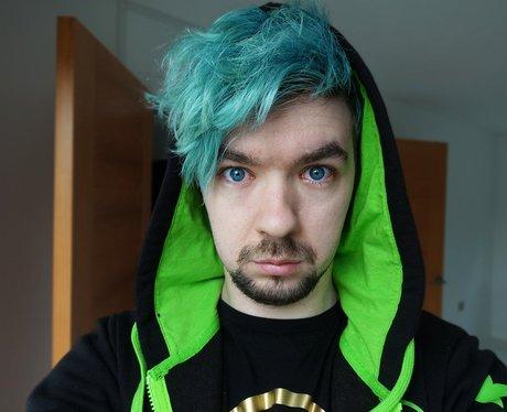 JackSepticEye turquoise hair