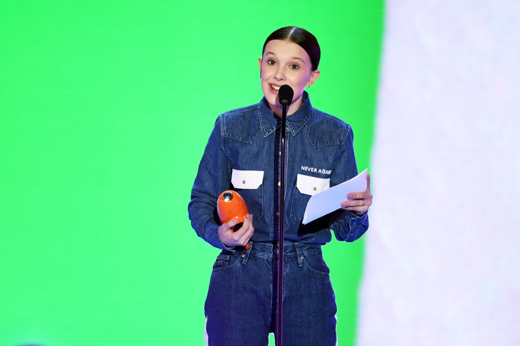 Millie Bobby Brown Kids' Choice Awards