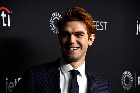 KJ Apa Arriving at PaleyFest