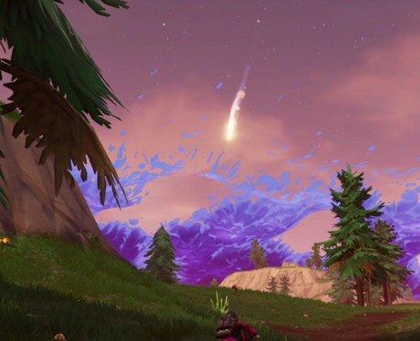 fortnite meteor comet