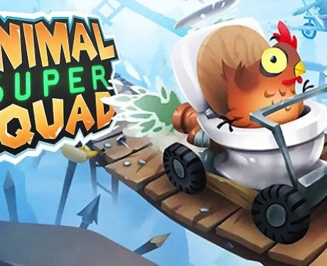 Animal Super Squad pewdiepie