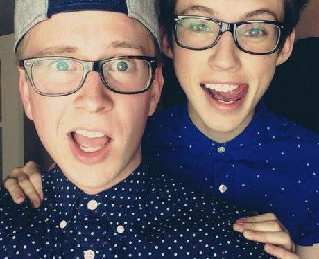 Tyler Oakley and Troye Sivan
