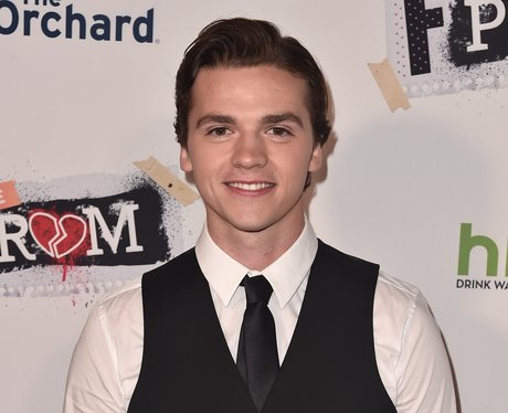 Joel Courtney at F The Prom premiere