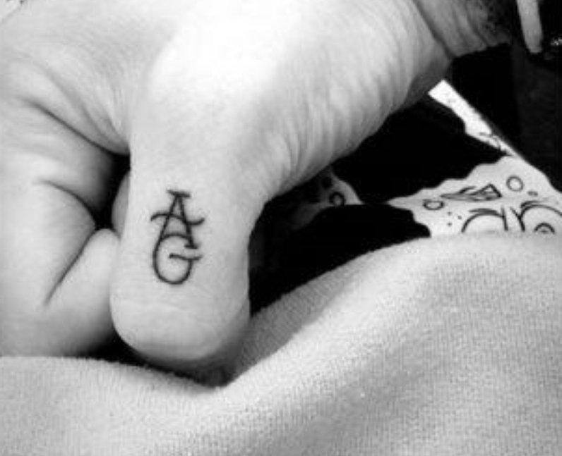 Ariana Grande Pete Davidson Tattoo