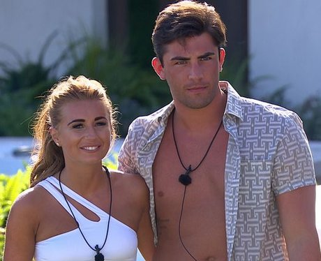 Love Island Contestants Dani and Jack