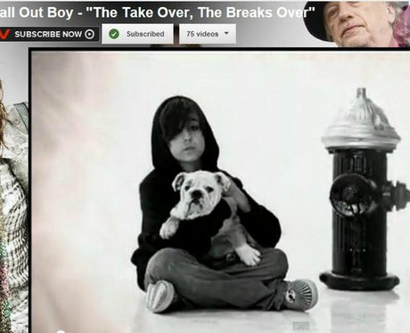 Alex Wolff in Fall Out Boy's The Take Over, The Br