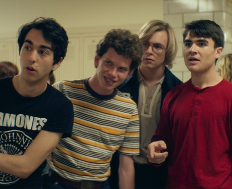 Alex Wolff in My Friend Dahmer