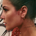 Image 1: Halsey Face Tattoo