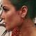 Image 1: Halsey Face Tattoo