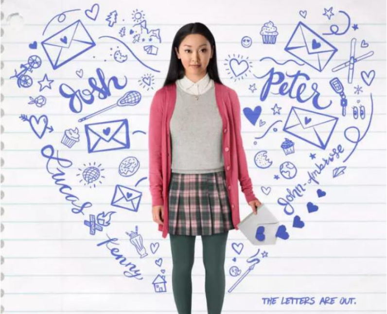Lana condor to all the boys I've loved before