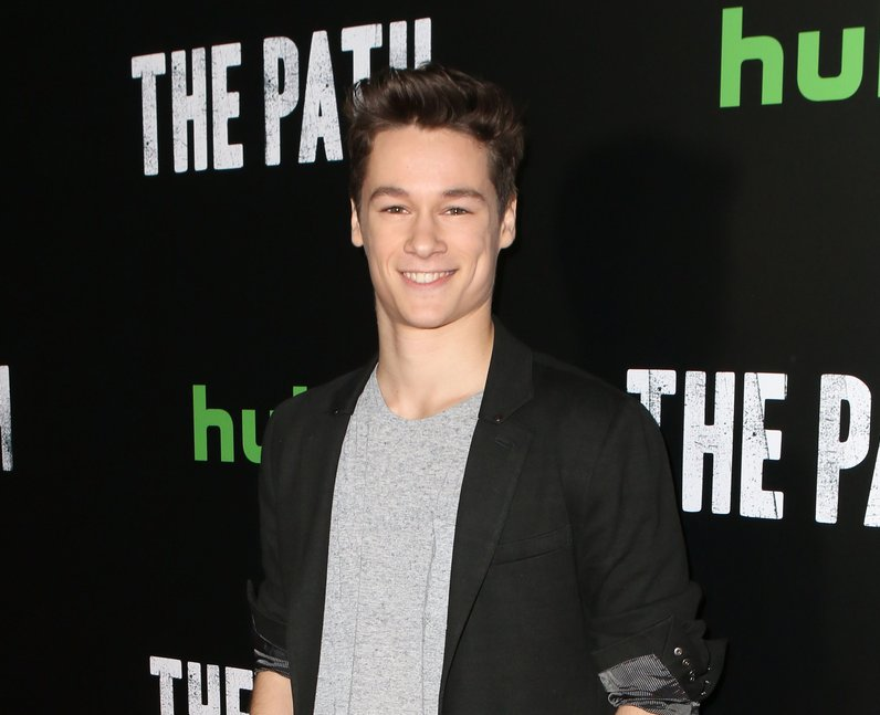Kyle Allen at The Path Season 2 premiere