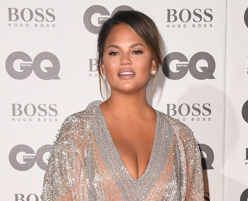 Chrissy Teigen GQ Awards