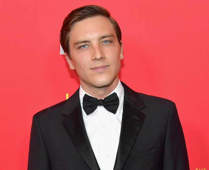 Cody Fern at the ACS: Versace Premiere