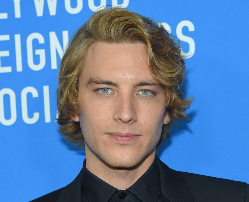 Cody Fern at the HFPA's annual grants banquet