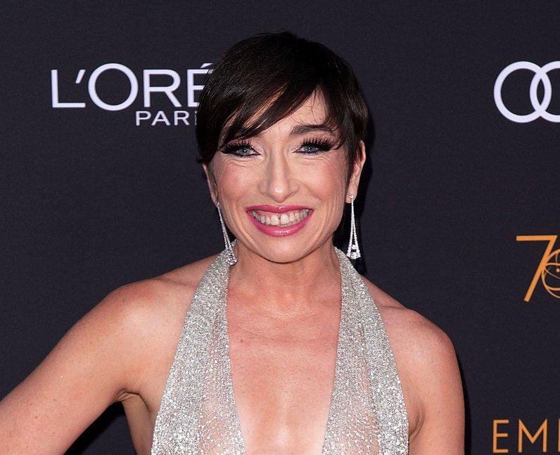 Naomi Grossman at the 70th Emmys Afterparty