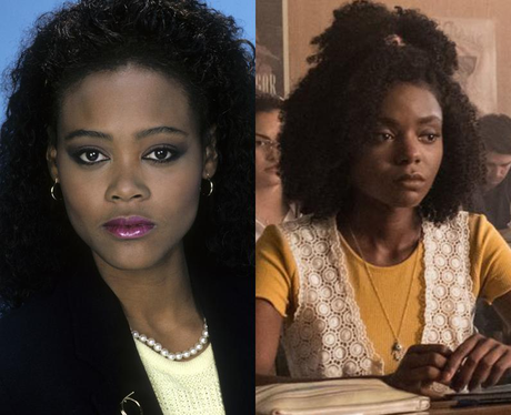 Young Robin Givens and Ashleigh Murray as young Sierra Samuels/McCoy