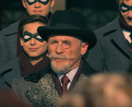 Colm Feore The Umbrella Academy Sir Reginald Hargreeves The Monocle