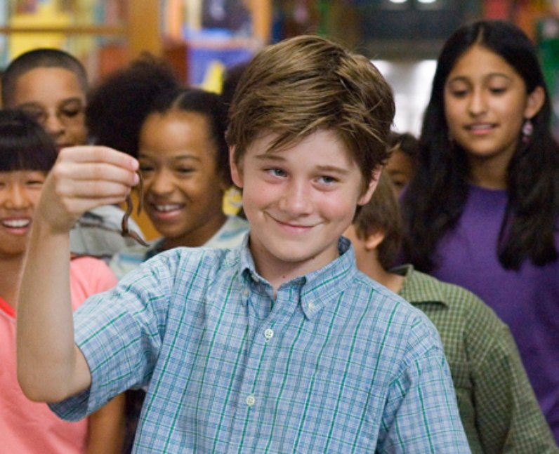 Luke Benward Billy Forrester actor How to Eat Fried Worms