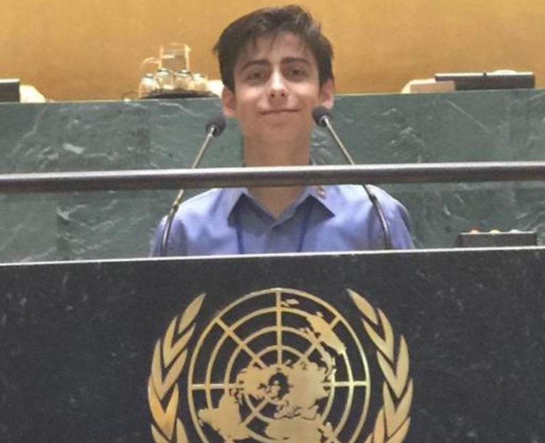 Aidan Gallagher Environment Goodwill ambassador