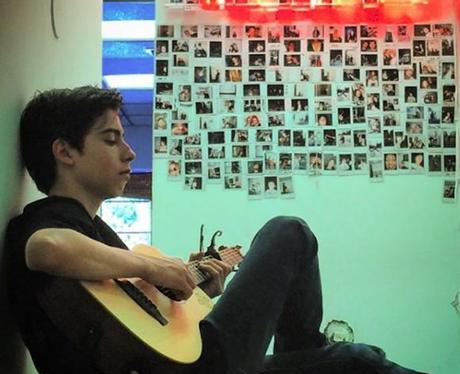 Aidan Gallagher guitar, piano, environment